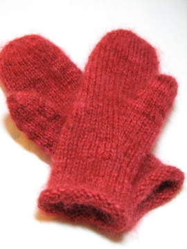 Birthday Mittens for Emily